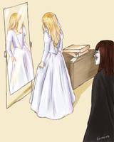 Evey's Wedding Dress by Sorairo