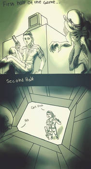 How i played Alien isolation