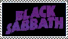 Black Sabbath Stamp by PohatuJr