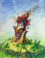 Tree House by linandara