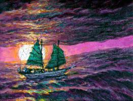 Seas of Eternity by linandara