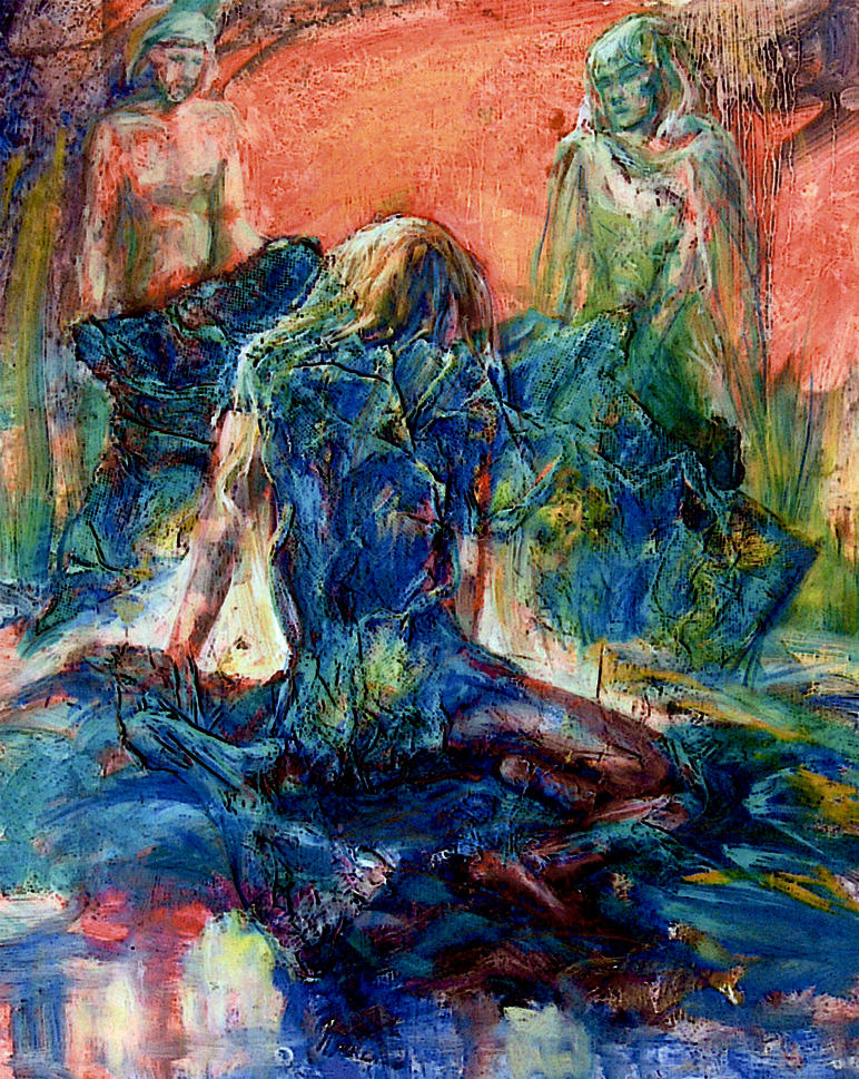 Green Veil by linandara