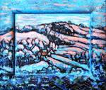 Winter in Newtown, Powys