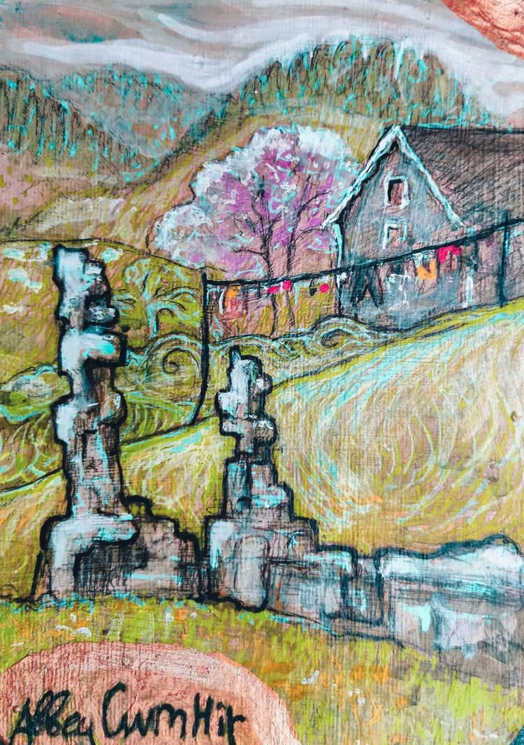 Abbey Cwmhir, Mid Wales