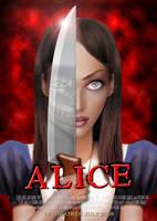 Alice - custom poster by VietRebel