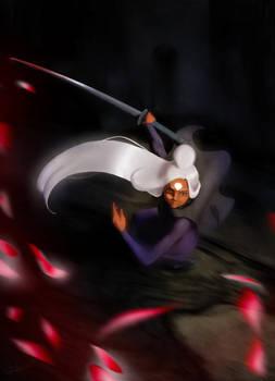 Nima in battle