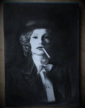Isabelle Huppert Portrait