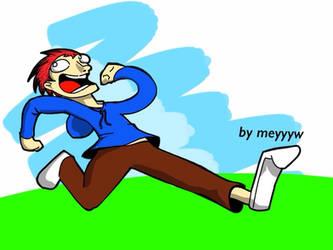 happy man by meyyyw