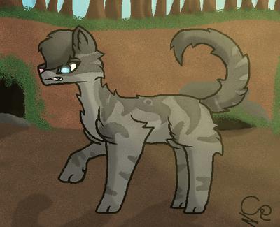 Warrior Cats ~ Jayfeather (REMAKE) by DreamcatcherSkies16