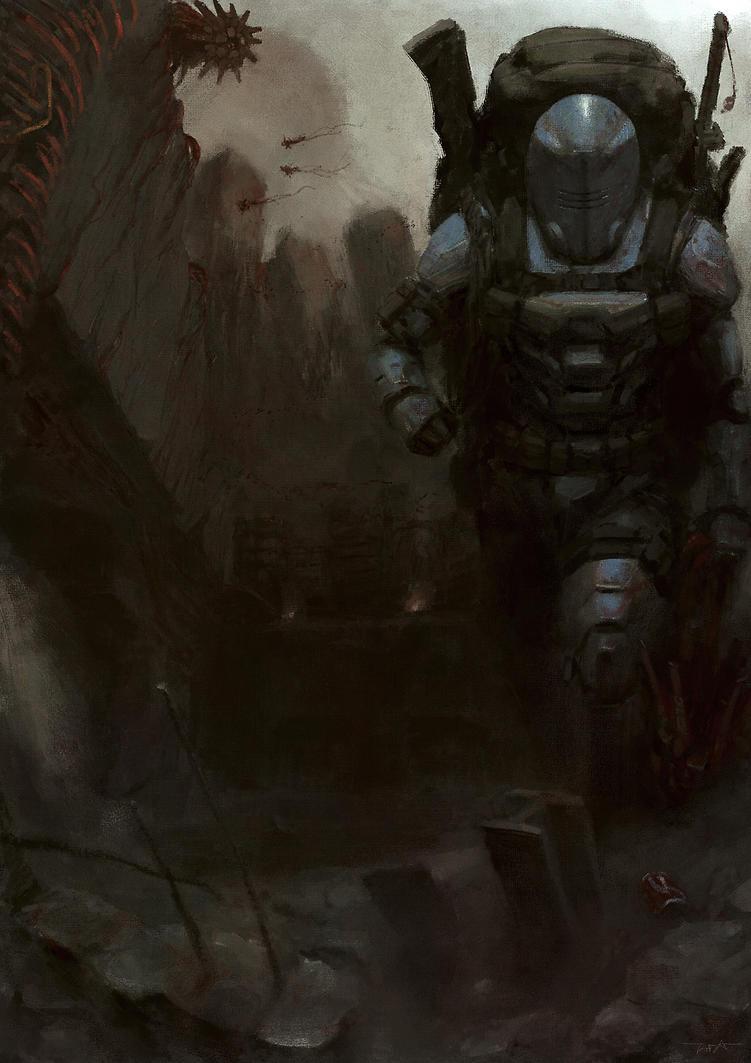 Exoskeleton Survivor by MangaAssault