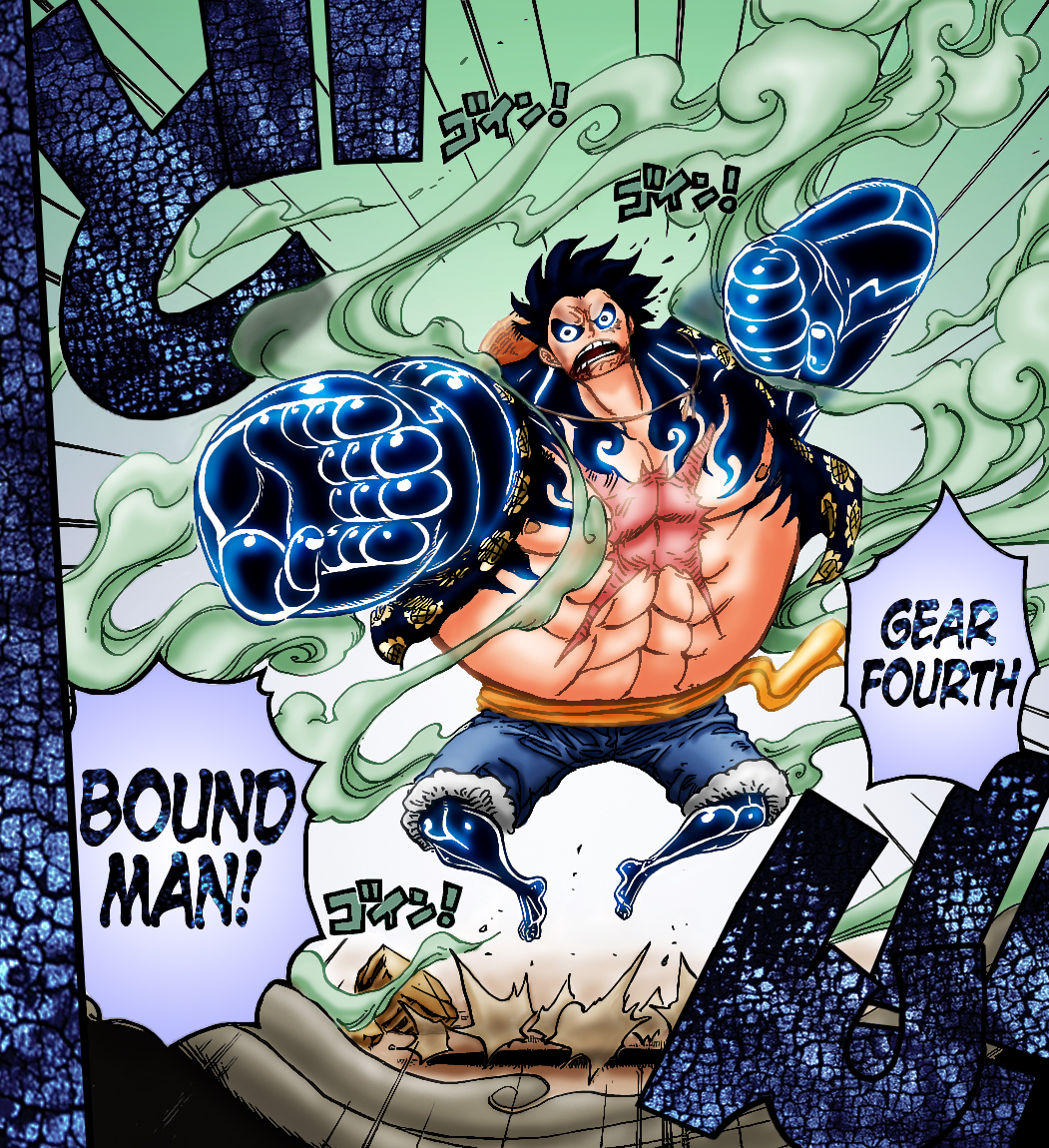 Gear 4th Luffy Vs Bartholomew Kuma
