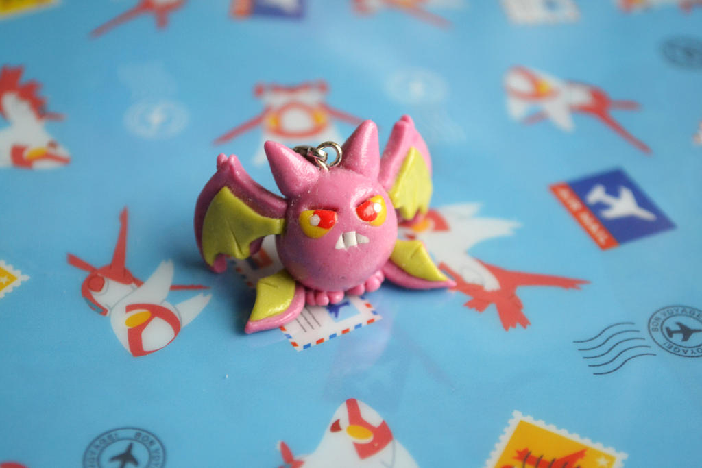 Shiny Crobat charm by LauraKitazawa