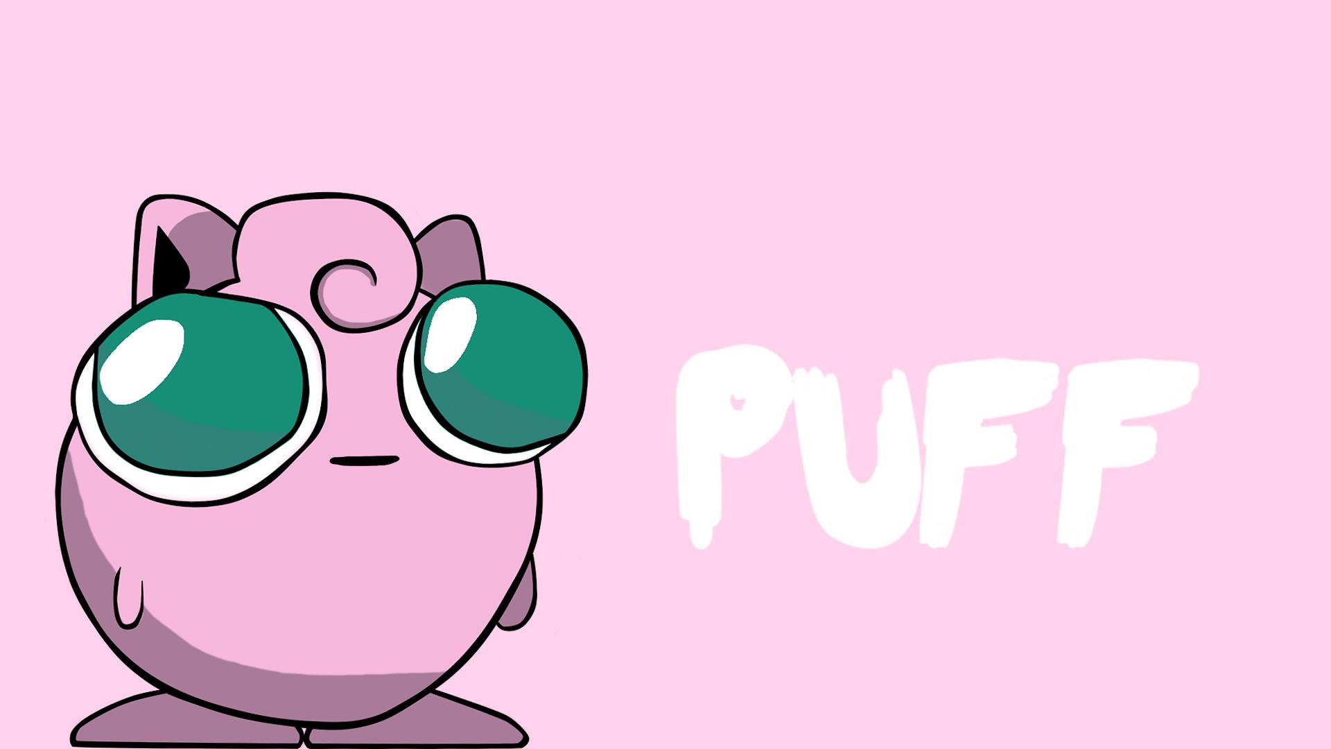 jigglypuff the derp pokemon by ookamiyukioo on deviantart