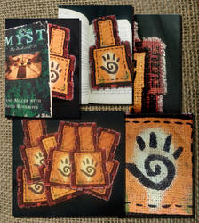 Uru Journey Cloth Bookmarks