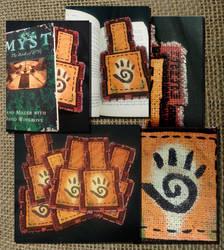 Uru Journey Cloth Bookmarks by numinous80