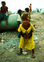 slum girl by anupjkat