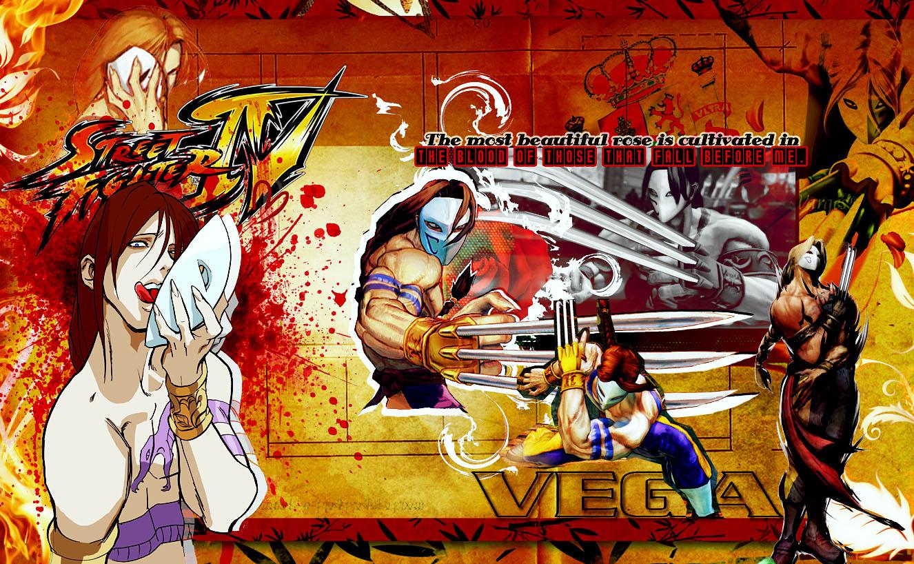 Street Fighter 4 Vega By Rollingstar89 On Deviantart