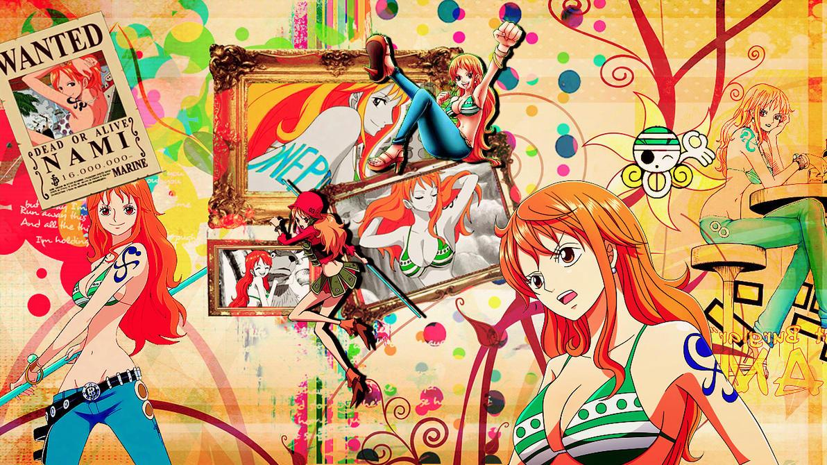 Nami Time Skip Wallpaper By RollingStar89