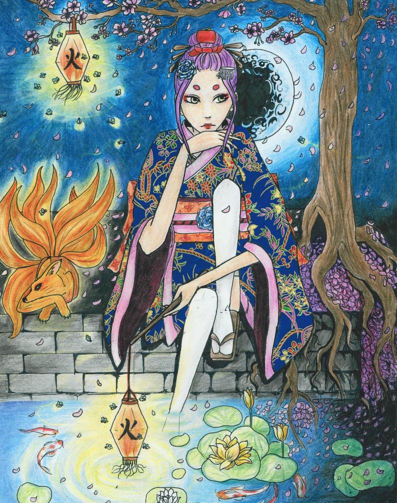 Summer Night Dream by Hoshikama534