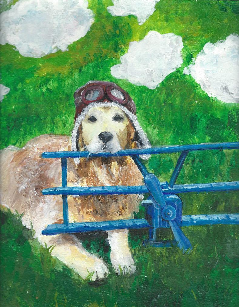 Captain Dog by CinnabunAni