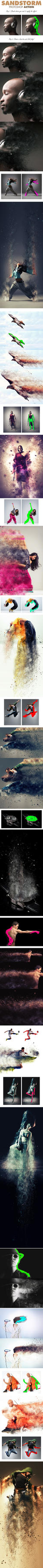 SandStorm Photoshop Action by MattSeibert