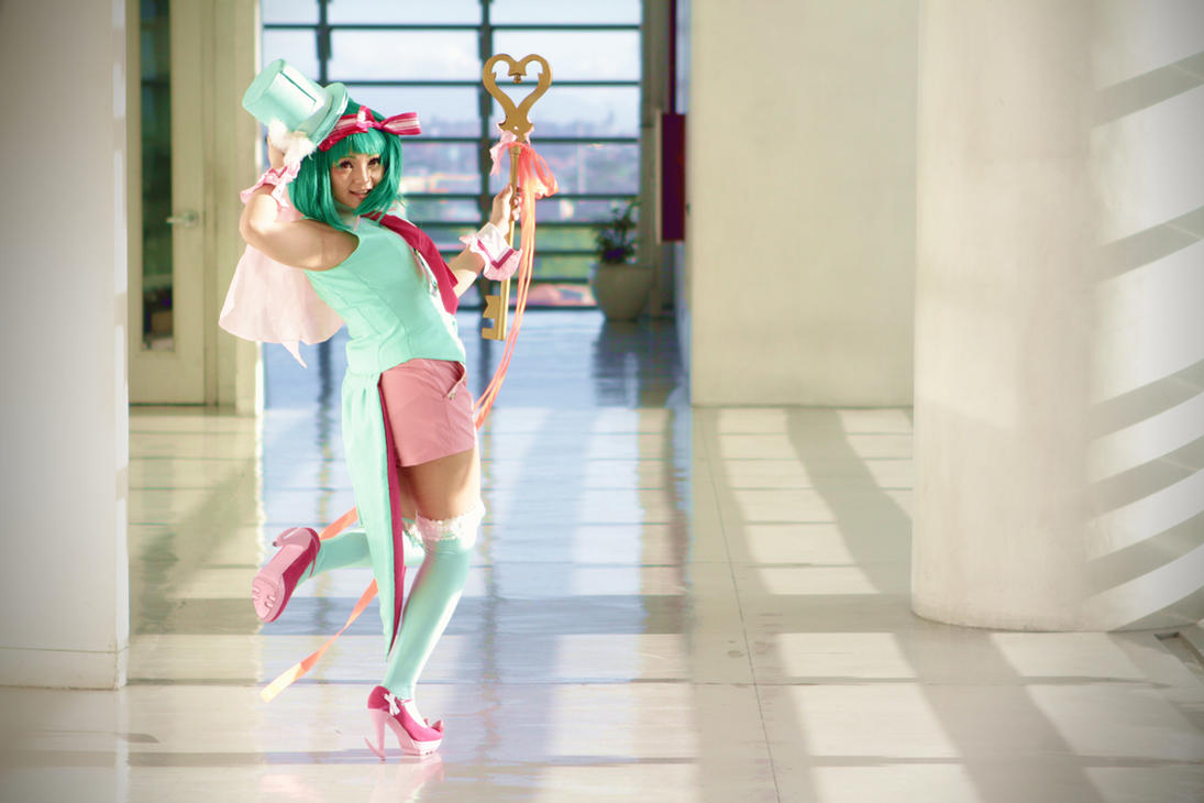 Ranka Lee: Open Ranka by neko-panigiri