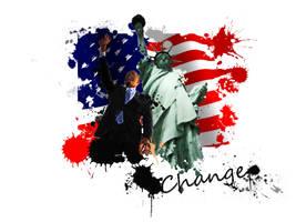 Change, Barrack Obama by wilsonjay