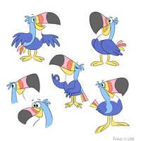 Toucan Sams by Pinfires