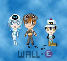Human- Wall-e by sheaydo