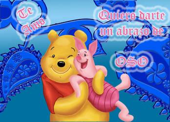 Pooh and Piglet by sheaydo
