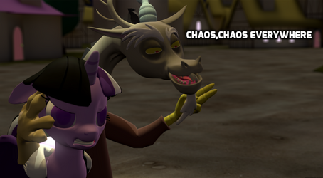 Chaos Every Where by drgamer7065