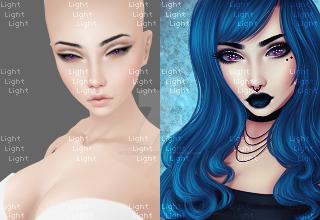 I'm Blue Premade by Through-the-Lightx