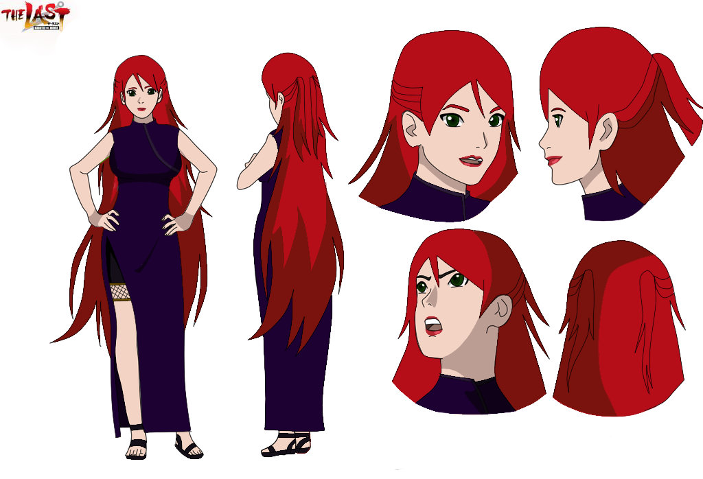Red Haired Girl Character Design