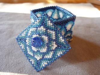 Resplendent Blue by EraserRain27