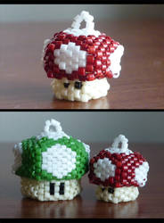 Mini Mini Mushrooms--Prototype