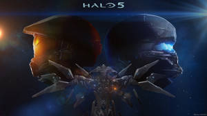 Halo 5 Wallpaper by KrokoZero