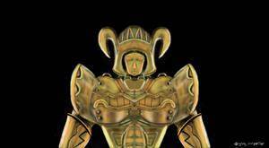 Golden Knight by KrokoZero