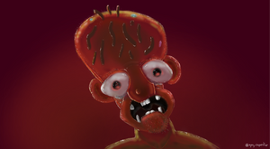 Zombie Guy by KrokoZero