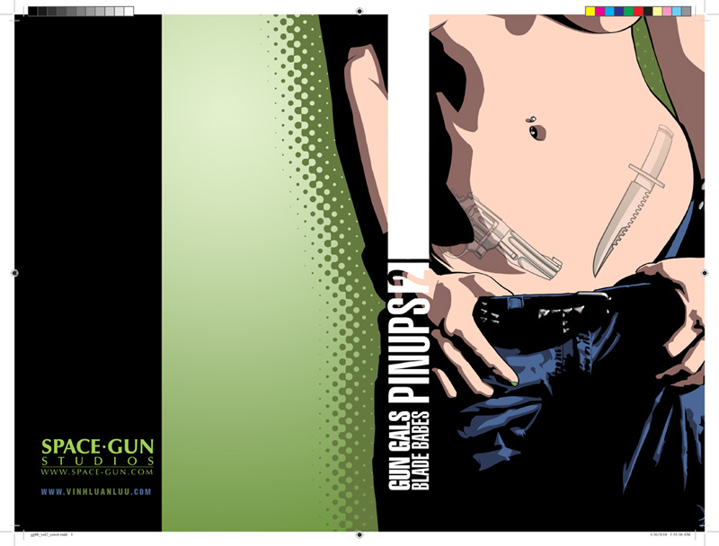 Gun Gal:Blade Babe Vol 2 Cover by vinhluanluu