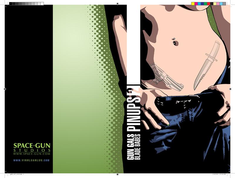 Gun Gal:Blade Babe Vol 2 Cover by KamiNoShi