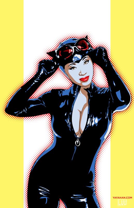 Catwoman Yaya by vinhluanluu