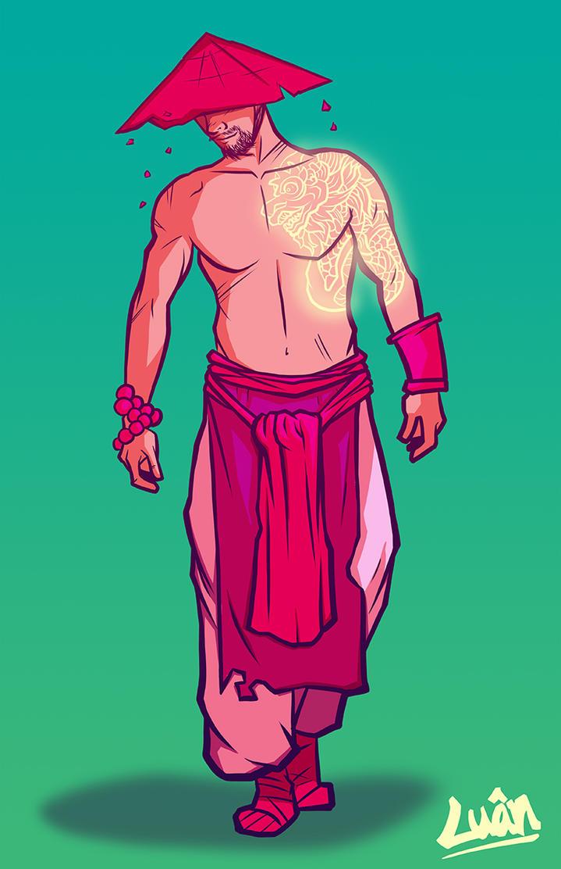 Monk Concept by vinhluanluu