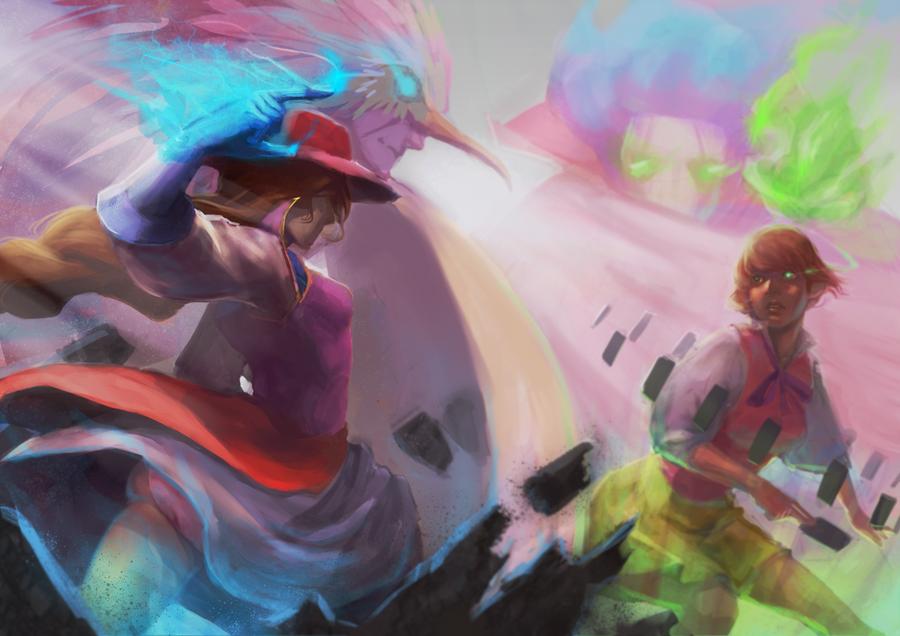 The Battle by leefaan