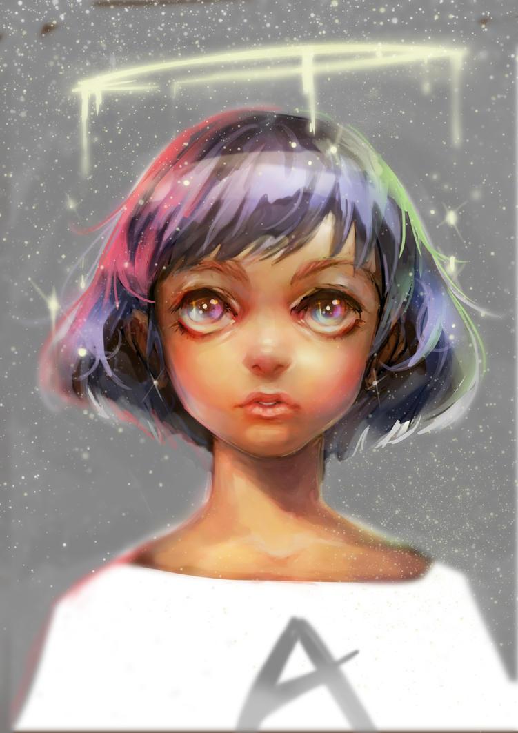 Girl by leefaan