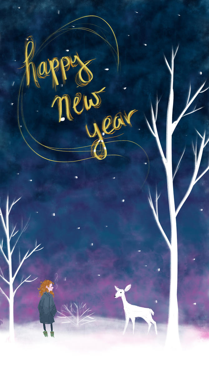 Happy New Year! by Pen-umbra