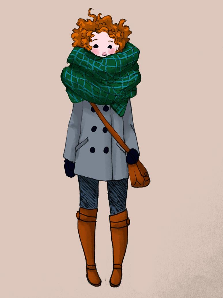 Blanket Scarf by Pen-umbra