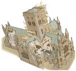 Cathedral Builders - Cutaway