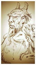 An Old Satyr by hesir