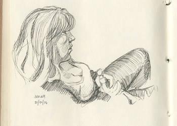 Sarah - 31-01-14 by hesir