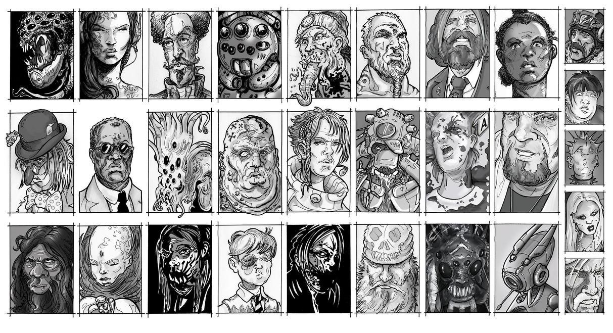 Character Headshots by hesir